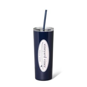 Vineyard Vines 22.5oz Logo Lidded Portable Cup